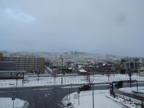 寒波による大雪