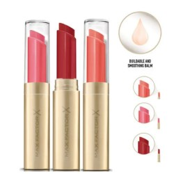Max Factor Colour Lipsticks Intensifying Balm 3 x Pack