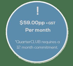 Salon Business Coach QuarterCLUB Fee