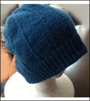 生徒作品 かぎ針編み ニット帽