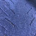 棒針編みで編むベストの模様