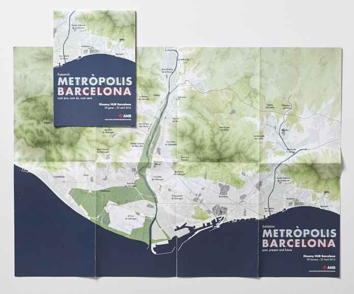 metròpolis Barcelona AMB Àrea Metropolitana de Barcelona