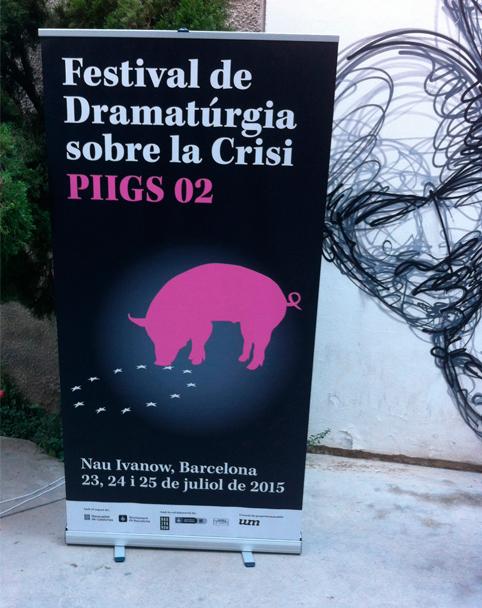 PIIGS Dramatúrgia sobre la crisi