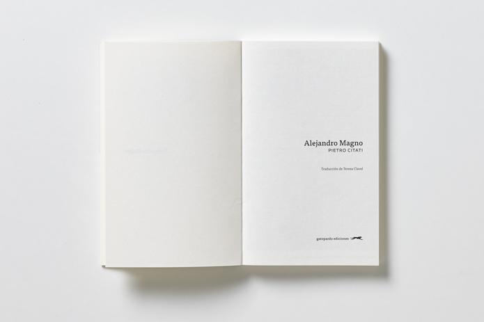 gatopardo ediciones Alejandro Magno Citati