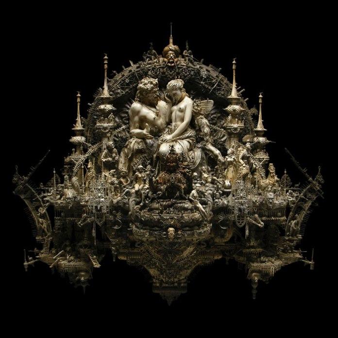 """Kris Kuksi, """"Pan Discomforting Psyche"""", 2009"""