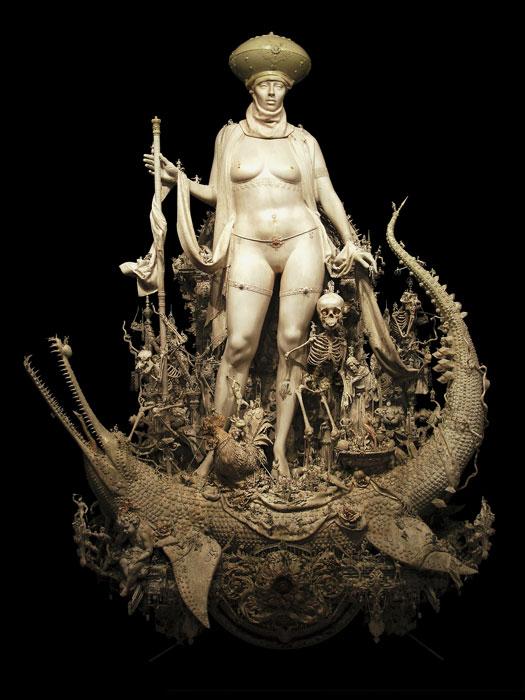 "Kris Kuksi, ""Triumph"", 2012"