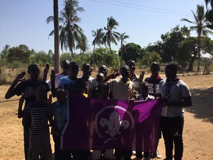 Staffordshire Scout Kenya Project Sponsored By Salon Iris LTD