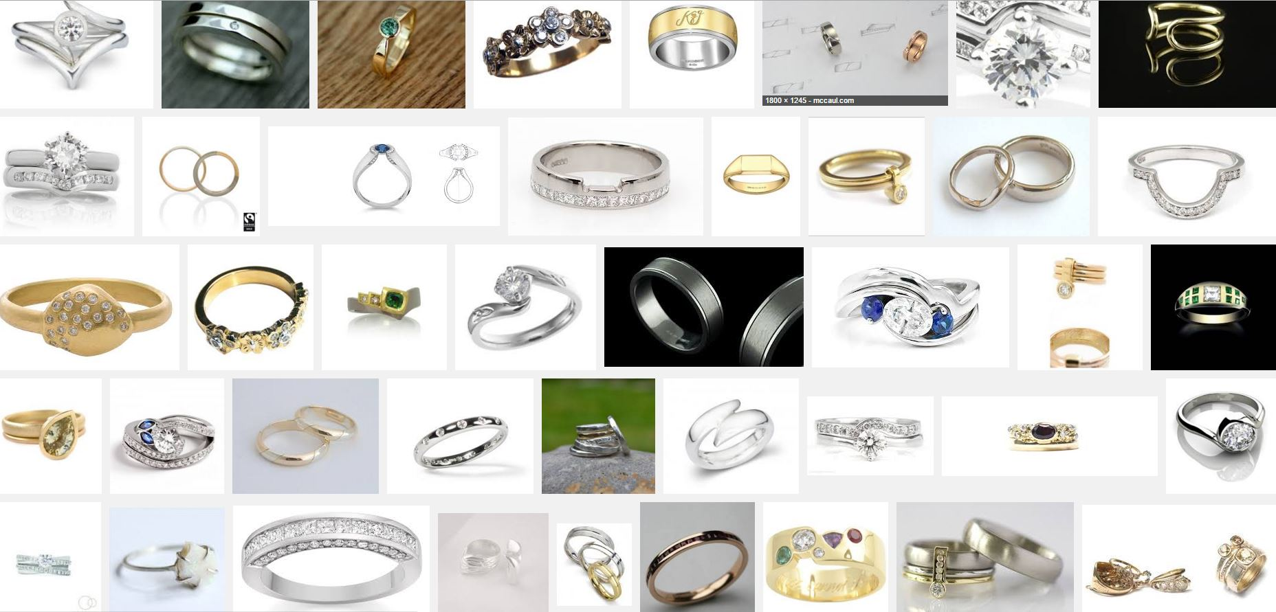 Wedding Ring Commission Options