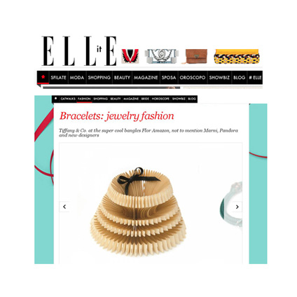 JEWELLERY PRESS SALOUKEE OBVERSE BRACELET ELLE IT