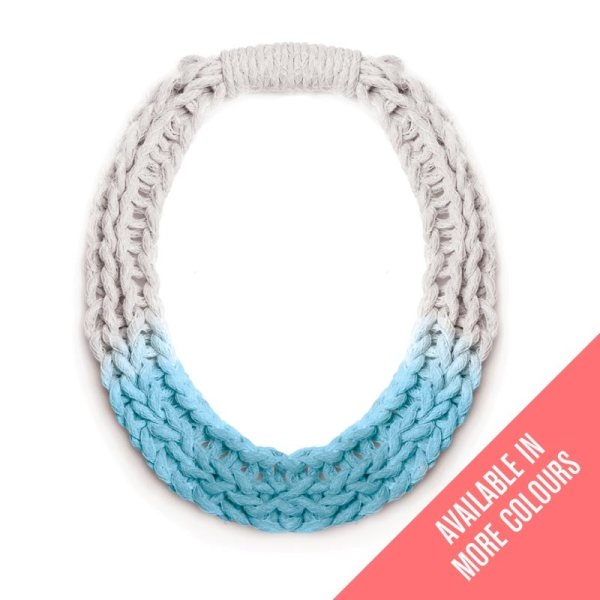 Woven Jewellery Saloukee Purls Necklace