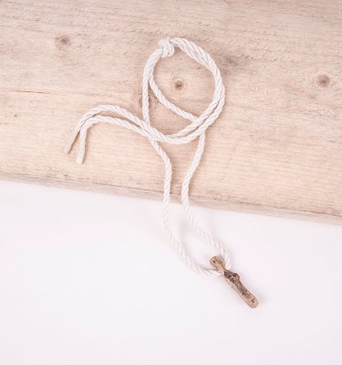 beach wood pendant