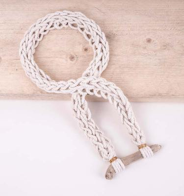 knotted rope necklace