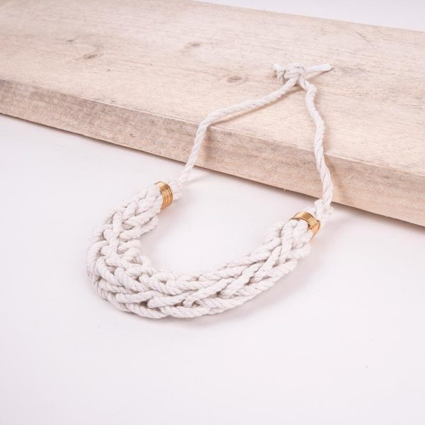 rope necklace large