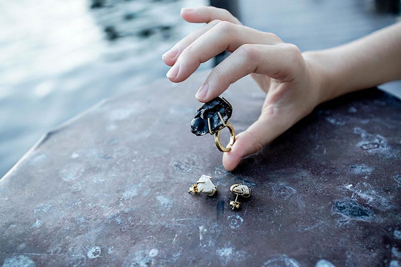 Raw Stone Jewellery Saloukee Rings Earrings