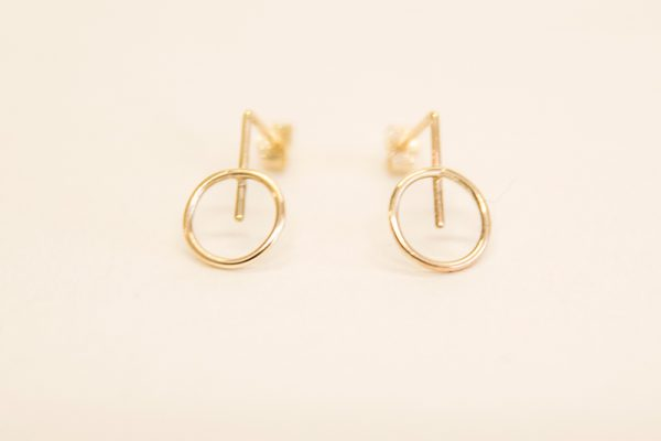 Creative Business Gold Earrings