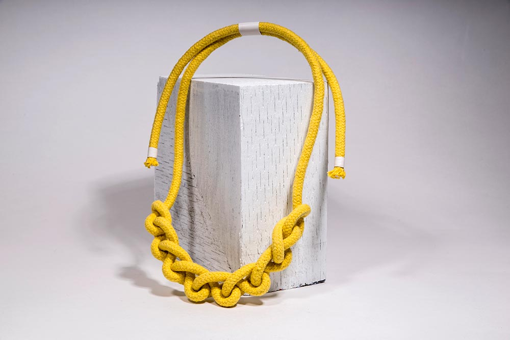 Cotton Rope Necklace handmade