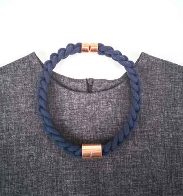 Knotted Necklace made by hand