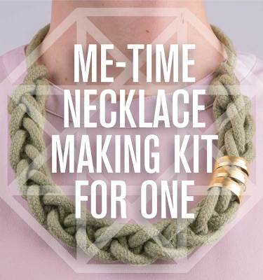 DIY Necklace Making Kit For One