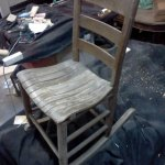 Childs Wooden Rocker