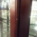 Dented Curio Cabinet