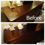 Finish repaired on console