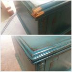Buffett cabinet repaired