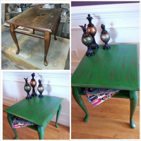 Old coffee tables, new look!