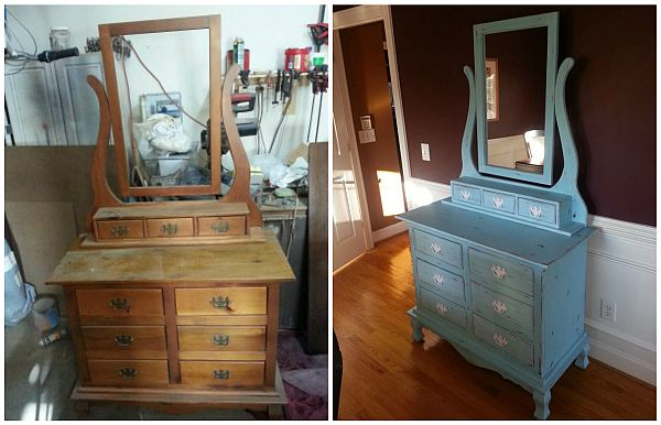 Before After Painted Furniture