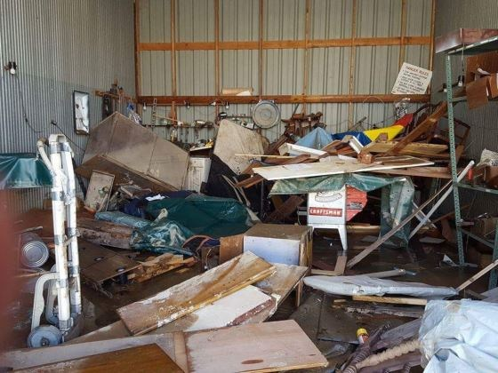 Salpeck Furniture Flooding