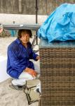 27.06.2014 Salsa am Strand in Scharbeutz - auch der Regen hält uns nicht ab