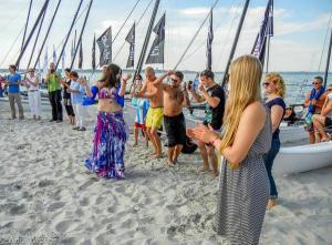 04.07.2014 Salsa am Strand in Scharbeutz - Bauchtanz