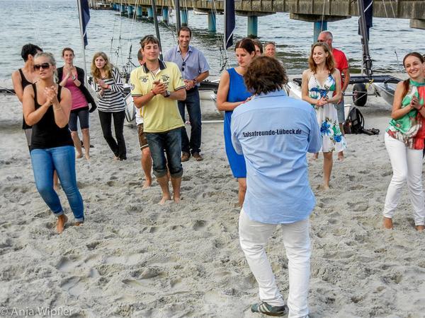 04.07.2014 Salsa am Strand in Scharbeutz