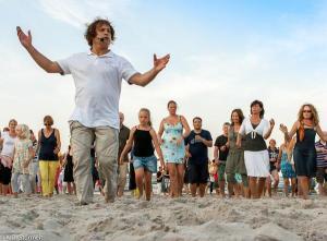 18.07.2014 Salsa am Strand in Scharbeutz