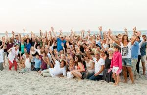 18.07.2014 Salsa am Strand in Scharbeutz - Rasoul und seine Freunde
