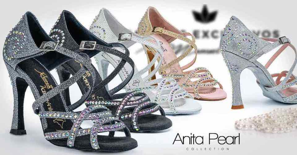 Chaussures de danse Salsa (Collection Anita) / reinadanza.com