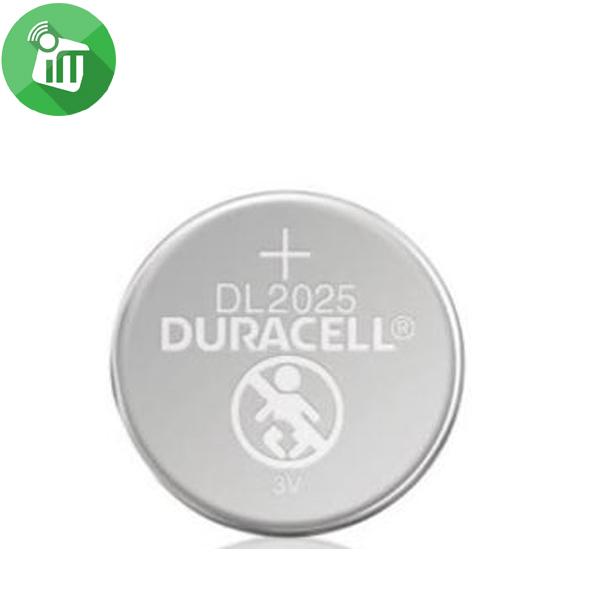 Duracell Lithium Battery CR2025 – 3V 2PCS