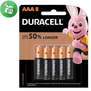 Duracell Plus Power AAA Batteries 1.5V 8PCS