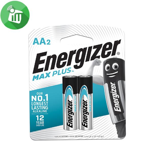 Energizer 2PCS AA Max PLUS Batteries 1.5V