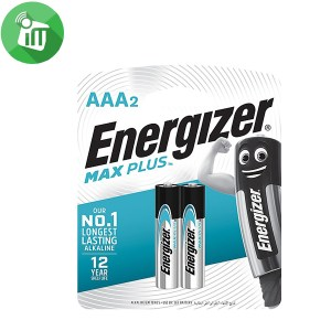 Energizer 2PCS AAA Max PLUS Batteries 1.5V