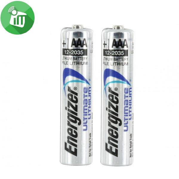 Energizer 2PCS AAA Ultimate Lithium 1.5V