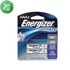Energizer 2PCS AAA Ultimate Lithium 1.5V