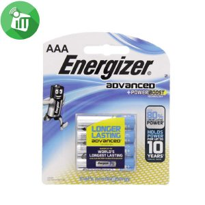 Energizer 4PCS AAA ADVANCED + Power Boost 1.5V