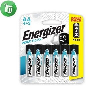 Energizer 6PCS AA Max PLUS Batteries 1.5V