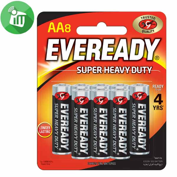 Eveready AA Batteries 1.5V 8PCS
