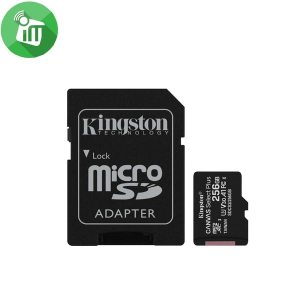 Kingston 256GB Class 10 Canvas Select Plus 100MB/s R SDXC Micro Memory card