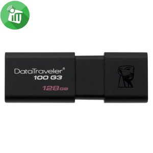 Kingston Digital 128GB Data Traveler 100 G3 USB 3.1