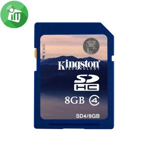 Kingston SDHC Memory Card Class 4