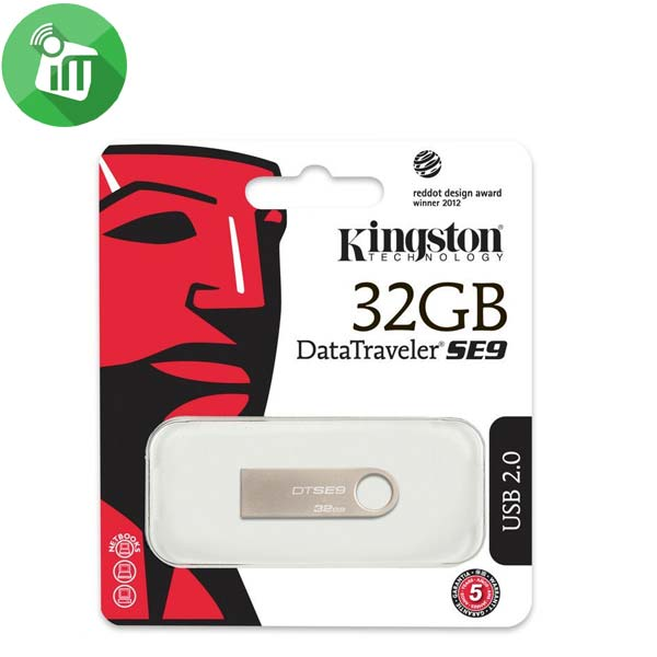 Kingston Digital DataTraveler SE9 32GB USB 2.0