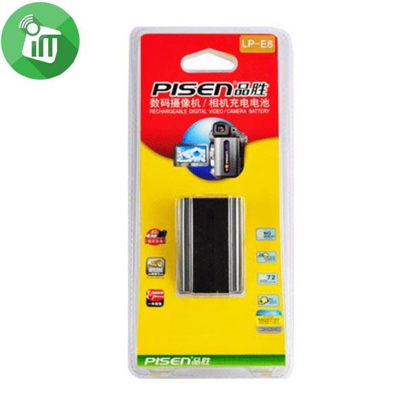 Pisen LP-E6 Camera Battery Charger for Canon EOS