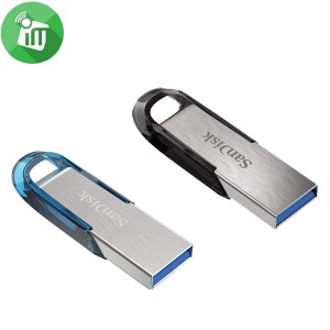 SANDISK ULTRA FLAIR USB 3.0 FLASH DRIVE 64GB